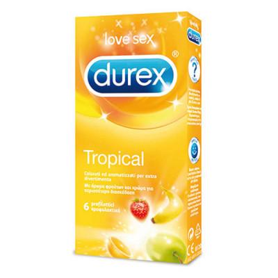 Durex Tropical Condoms x6