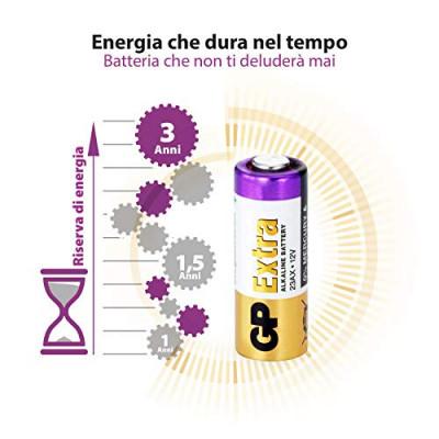 GP Extra 23A 12V Alkaline Battery
