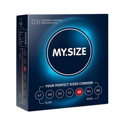 MY.SIZE 60 mm Condoms x3 pcs