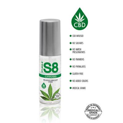 S8 Hybrid Cannabis Lube 50ml