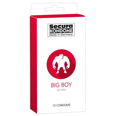 Secura Big Boy 60mm XXL Condoms x12