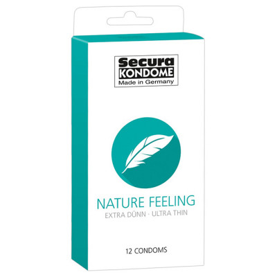 Secura Nature Feeling Condoms x12