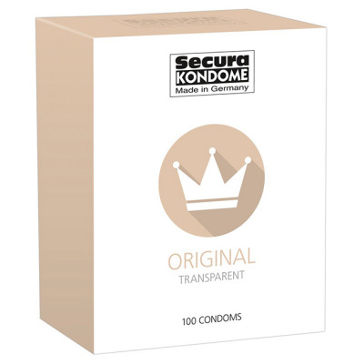 Secura Original Condoms x100