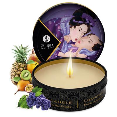 Shunga Massage Candle Lotion Exotic Fruits 30 ml