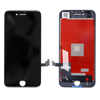 iPhone 8 - iPhone SE (2020) (Compatible) LCD Touchscreen - Black