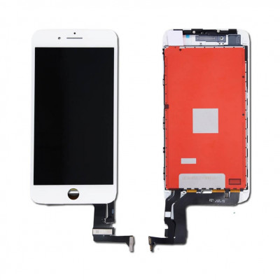 iPhone 8 Plus (Compatible) LCD Touchscreen - White