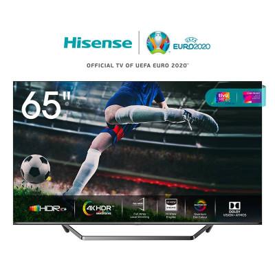 TV COLOR 65 HISENSE 65U7QF - ULED QUANTUM DOT 4K SmartTV WIFI DOLBY CERTIFIED TivùSAT ALEXA BUILT IN FULL ARRAY DIMMING PRO