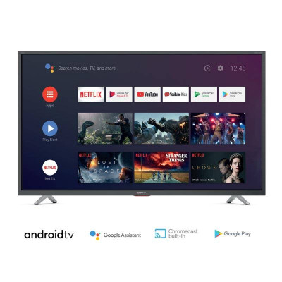 TV COLOR 65 LED SHARP AQUOS 65BL5EA BLACK ANDROID 9.0 4K DVB-T2/S2 3HDMI