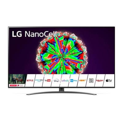 TV COLOR 65 LG 65NANO813NE - NANOCELL 4K Smart TV WiFi 4HDMI 2USB DVB-T2/S2 BLACK
