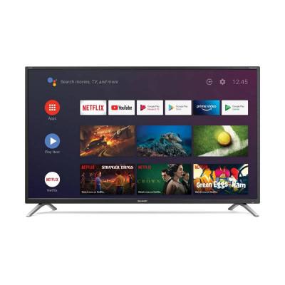 TV COLOR 43 LED SHARP AQUOS 43BL2EA BLACK ANDROID 9.0 4K DVB-T2/S2 3HDMI
