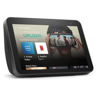 New Echo Show 8   2nd generation (2021 release), HD smart display with Alexa and 13 MP camera   Charcoal