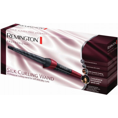 Remington Curling Iron From Silk Curling Wand CI 96W1