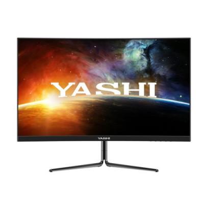 MONITOR YASHI 27'' Wide YZ2740 IPS CURVED Pioneer Gaming 1920x1080 0.5ms MPRT 350cd/m² 4000:1 240Hz 2x2W MM 3HDMI DP VESA