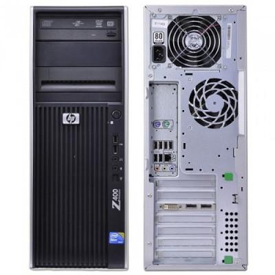 WORKSTATION HP REFURBISHED Z400 RA67034023 TOWER XEON W35X0 12GB SSD240GB+HDD300GB nVidia GT 710 1GB DVD W10P (MAR)