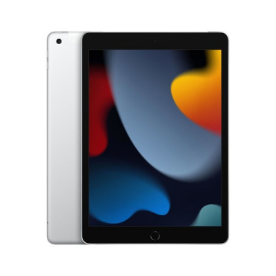 """TABLET APPLE iPad (2021 9° gen.) 10,2"""" Wi-Fi + Cellular 256GB Silver MK4H3TY/A"""