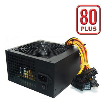 650W Tecnoware 80 PLUS ATX Power Supply Black Free Silent