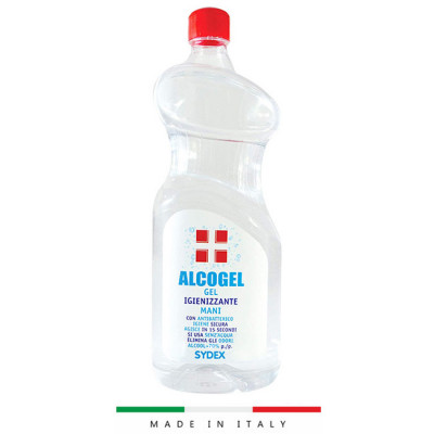Alcoholic Hand Sanitizing Gel 1 Litre Bottle