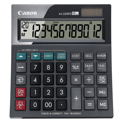 CALCULATOR CANON AS-220RTS 12 DIGITS