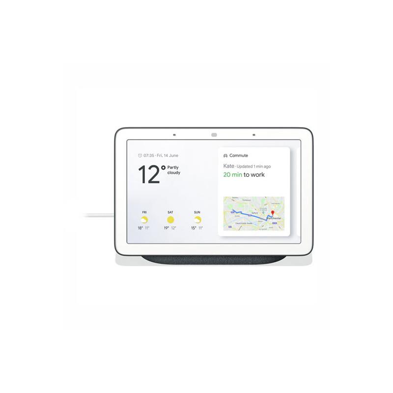 Google Nest Hub Hands-Free Smart Speaker with 7 Screen, Charcoal