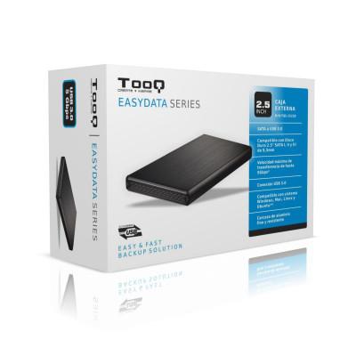 Tooq TQE-2522B External enclosure for 2.5 SATA I/II/III hard drives USB 3.0