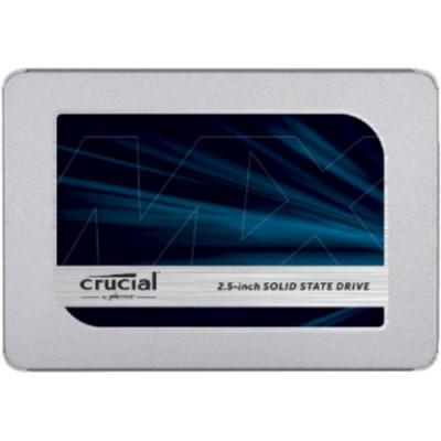 """SSD CRUCIAL 500GB 2.5"""" SATA3 READ: 555MB/S-WRITE: 515MB/S CT500MX500SSD1"""