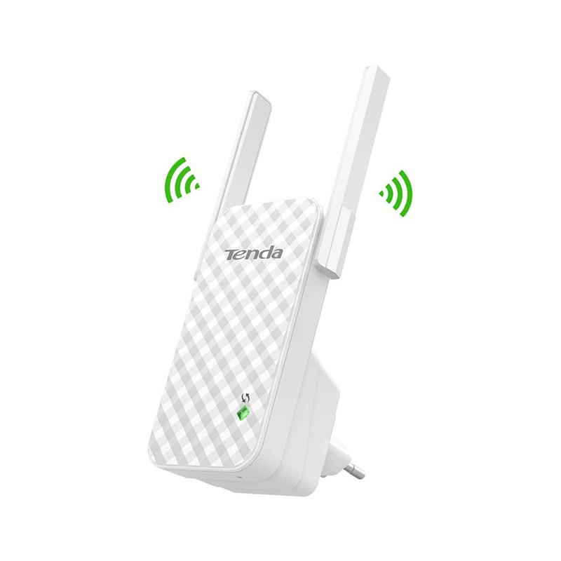 TENDA A9 N300 Wifi Extender, Wifi Repeater, Signal strength indicator