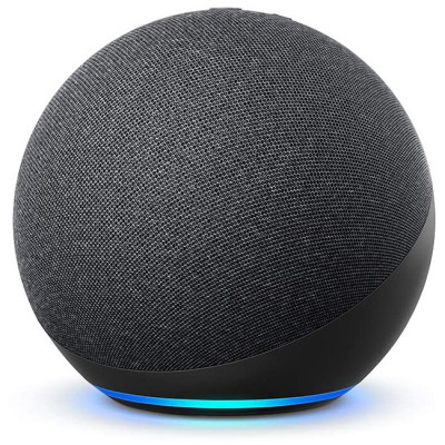 NEW Echo (4th generation) | With premium sound, smart home and Alexa | Charcoal