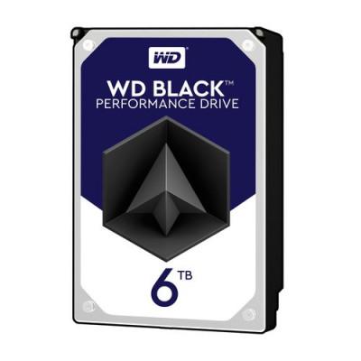 """HD WD SATA3 6TB 3.5"""" BLACK 7200 RPM 256mb cache - WD6003FZBX"""