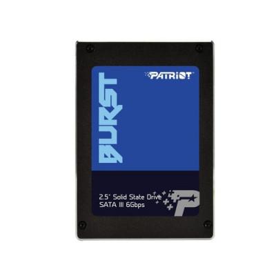 """SSD PATRIOT 240GB BURST 2.5"""" SATA3 READ:555MB/WRITE:500 MB/S - PBU240GS25SSDR"""