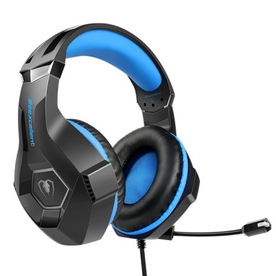 Beexcellent GM-6 Gaming Headset for PC, PS4, Xbox One, Gaming Headphones with Microphone & LED Lights, Noise Cancelling for Ster