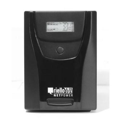 UPS Riello NETPOWER 1500 1500VA/900W TOWER auton. 8 min.