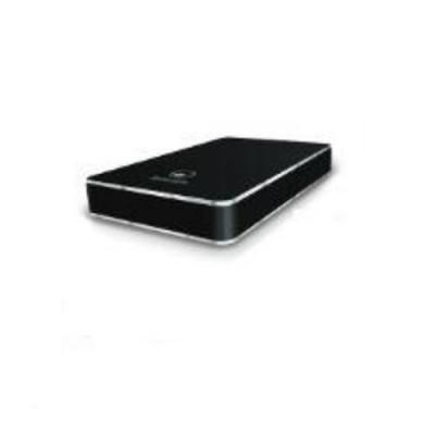 BOX ESTERNO ATLANTIS USB 2.0 SATA A06-HDE-212B X STORAGE 2.5'', Design in alluminio satinato BLACK con finiture lucide