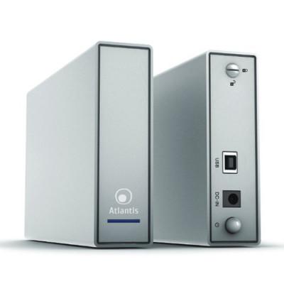 BOX ESTERNO ATLANTIS USB 3.0 SATA FINO A 6TB A06-HDE-353S xSTORAGE 3.5'' Design in alluminio satinato Argento