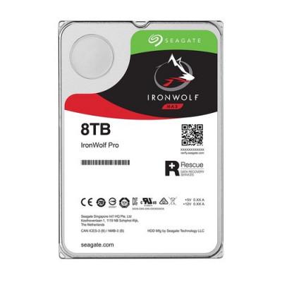 """HD SEAGATE IRON WOLF SATA3 8TB 3.5"""" 7200 RPM  256mb cache 24x7 - NAS HDD - ST8000VN004 - Gar. 3 anni"""