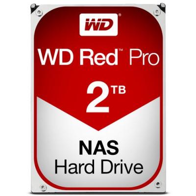 """HD WD SATA3 2TB 3.5"""" RED PRO INTELLIPOWER 64mb cache 7200RPM 24x7 - NAS HARD DRIVE - WD2002FFSX"""