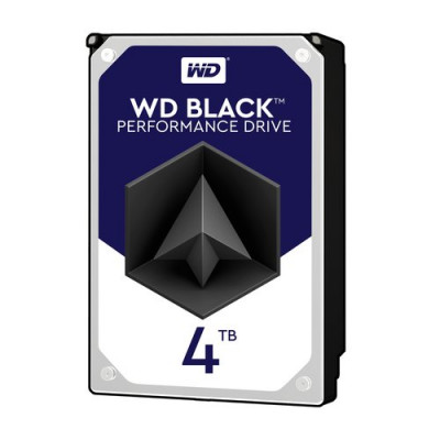 """HD WD SATA3 4TB 3.5"""" BLACK 7200 RPM 256mb cache - WD4005FZBX"""
