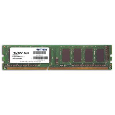 DDR3 PATRIOT 8GB 1333Mhz - PSD38G13332