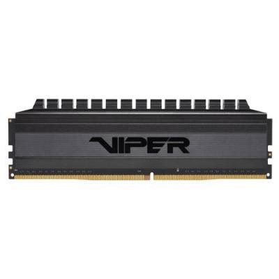 "KIT DDR4 PATRIOT ""VIPER 4 BLACKOUT"" 8GB (2x4GB) 3200Mhz CL16 - DUAL CHANNEL PVB48G320C6K"