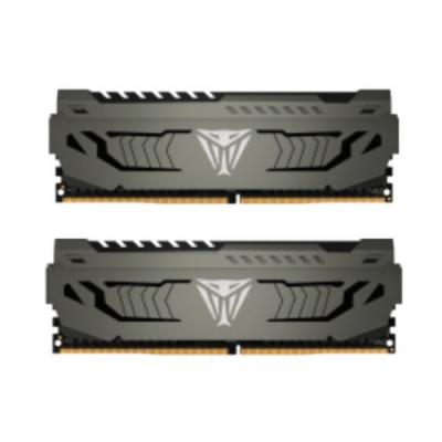 """KIT DDR4 PATRIOT """"VIPER 4 STEEL"""" 32GB (2X16GB) 3200Mhz - CL 16 ALUMINIUM HEAT SHIELD - PVS432G320C6K"""
