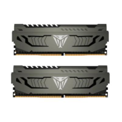 """KIT DDR4 PATRIOT """"VIPER STEEL"""" 16GB (2X8GB) 3733Mhz - CL 17 ALUMINIUM HEAT SHIELD - PVS416G373C7K"""